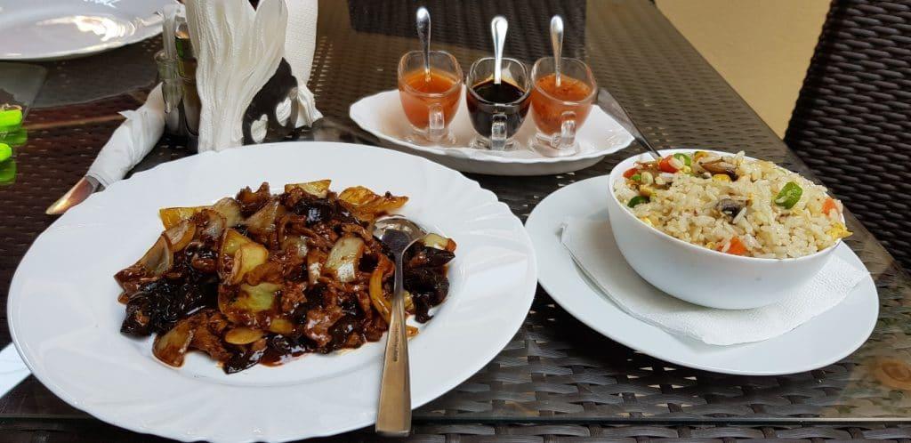 Chinese Garden, restaurant chinezesc pe IL Caragiale in Bucuresti