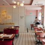 Restaurant la ultimul nivel al Hotelului Cismigiu