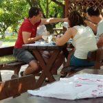 Restaurant Ferma Cocosul Rosu, sat Ghionea, comuna Ulmi, judetul Giurgiu