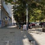 Bulevardul Magheru cu Taupe Bistro, Narcoffee Roasters, Ciclop, Lido si altele