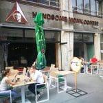 Handsome Monk Coffee, cafenea pe Calea Victoriei din Bucuresti