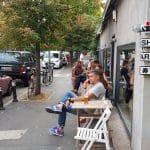 Piata Dorobantilor cu parculetul din Rond si Ai Sushi Bar