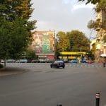 Piata Dorobantilor cu parculetul din Rond si cu Ai Sushi Bar