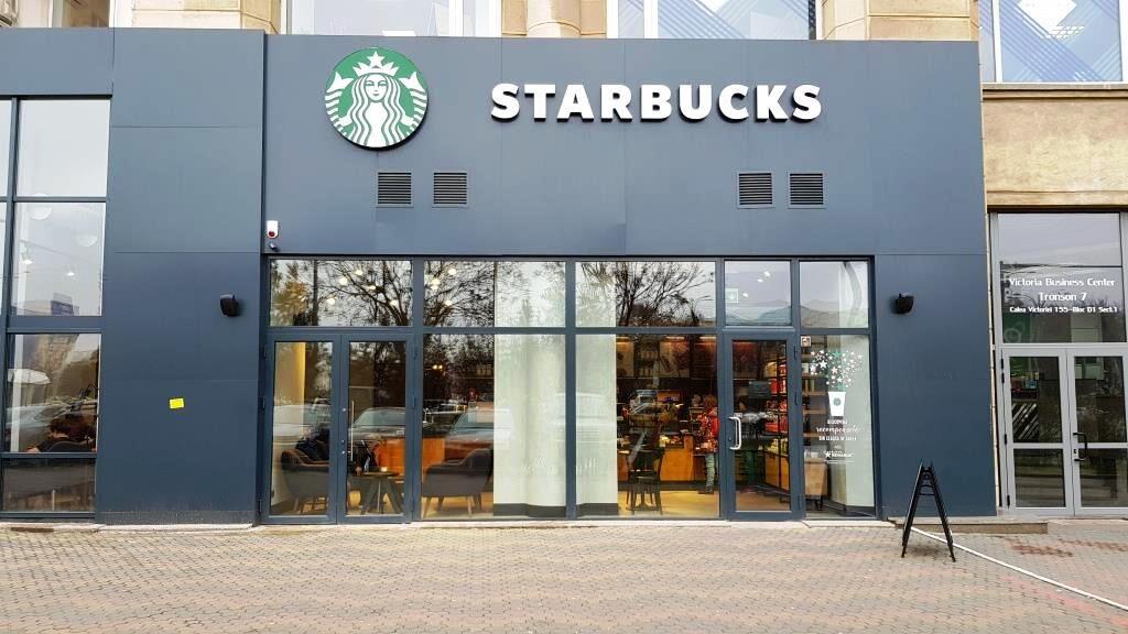 Starbucks din Piata Victoriei, fostul Meron
