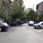 Strada Icoanei cu restaurantul Capriccio si Biserica Icoanei