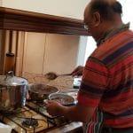 Cina indiana pregatita de foarte seriosul Sapta Sheel si adorabila lui sotie Anca