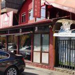 Strada Foisorului cu restaurantele indian Kumar's Agra Palace si chinezesc Ding Fu