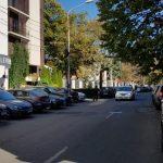 Strada Monetariei cu restaurantul Gargantua KSLF si Clubul Taranului MTR