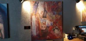 Galeria de pictura de la restaurantul Ora Experience din Calea Floreasca