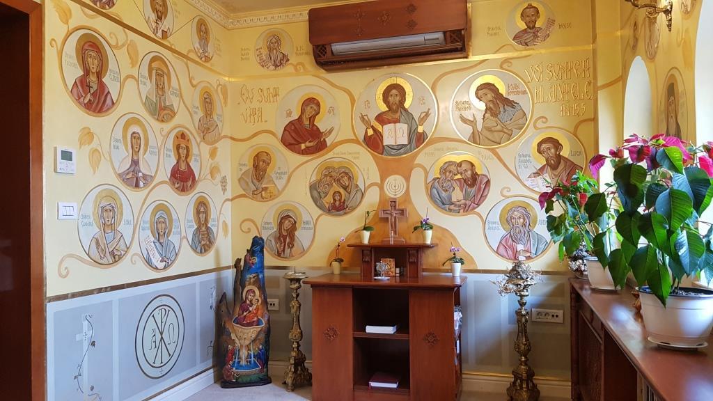 Capela Palatului Suter din Bucuresti