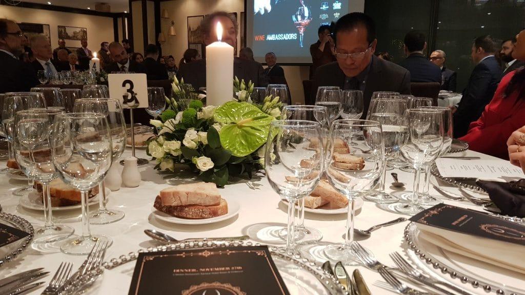 Wine Ambassador Dinner pregatit de Samuel le Torriellec la restaurantul L-Atelier