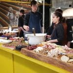 Camioneta, Gattini, MEATic si Japanos la Carnivale Food Market