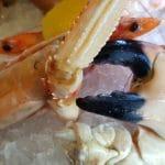 Fructe de mare proaspete la restaurantul Le Vivier