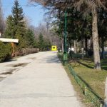 Parcul Herastrau la intrarea dinspre Bulevardul Kiseleff