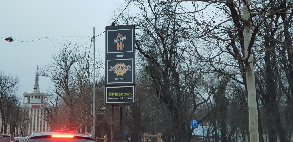 Restaurantele Meadows, Beraria H si Hard Rock Cafe in Herastrau