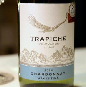 Trapiche Chardonnay la o cina memorabila pregatita de Chef Catalin Petrescu