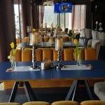 JO Lounge Bistro pe malul Dambovitei pe Splaiul Unirii la Biblioteca Nationala