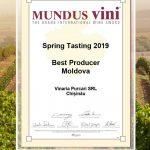 Purcari Mundus Vini 2019