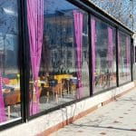 Restaurantele de pe Splaiul Unirii pe malul Dambovitei la Biblioteca Nationala