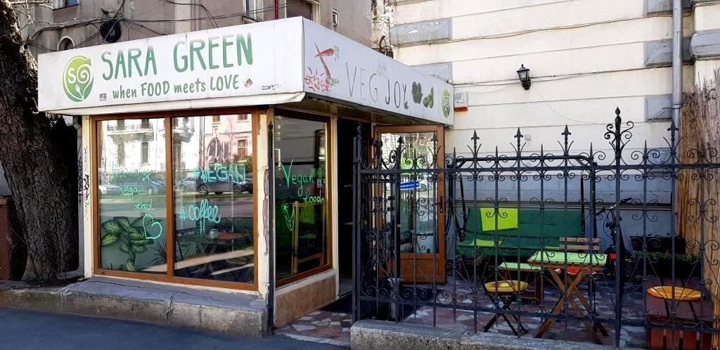 Sarta Green, bistrou vegetarian pe Lascar Catargiu