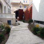Terasa Institutului Francez din Bucuresti