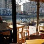 The Clique, restaurant pe malul Dambovitei la Piata Unirii pe Splai