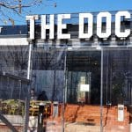 The Dock by The Embassy restaurant pe malul Dambovitei pe Splaiul Unirii