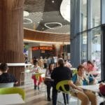 Food court la Veranda Mall in Bucuresti 01