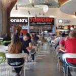 Food court la Veranda Mall in Bucuresti 05