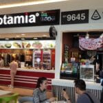 Food court la Veranda Mall in Bucuresti 12