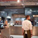Raionul Floreasca restaurant cu peste si fructe de mare in Agora 06