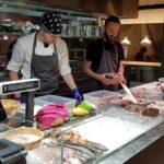 Raionul Floreasca restaurant cu peste si fructe de mare in Agora 15