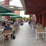 Terasa restaurantului Angelo Grasso de la TNB
