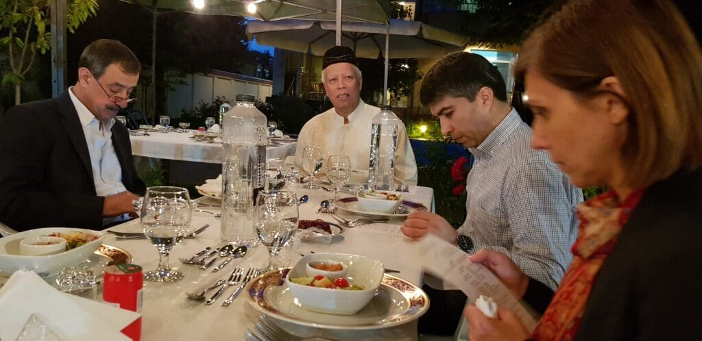 Un Iftar la Amhar Azeth mai 2019 in Bucuresti