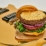 24K Gold Leaf Steak Burger