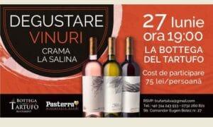 Degustare de vinuri Crama La Salina la Bottega del Tartufo