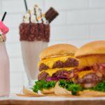 Steak Burgers Shakes Array