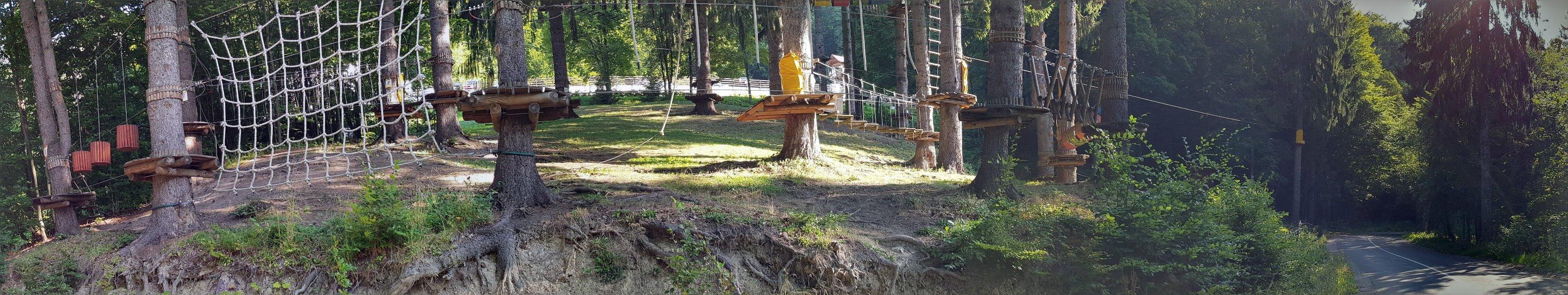 Adventure park in Balvanyos Resort