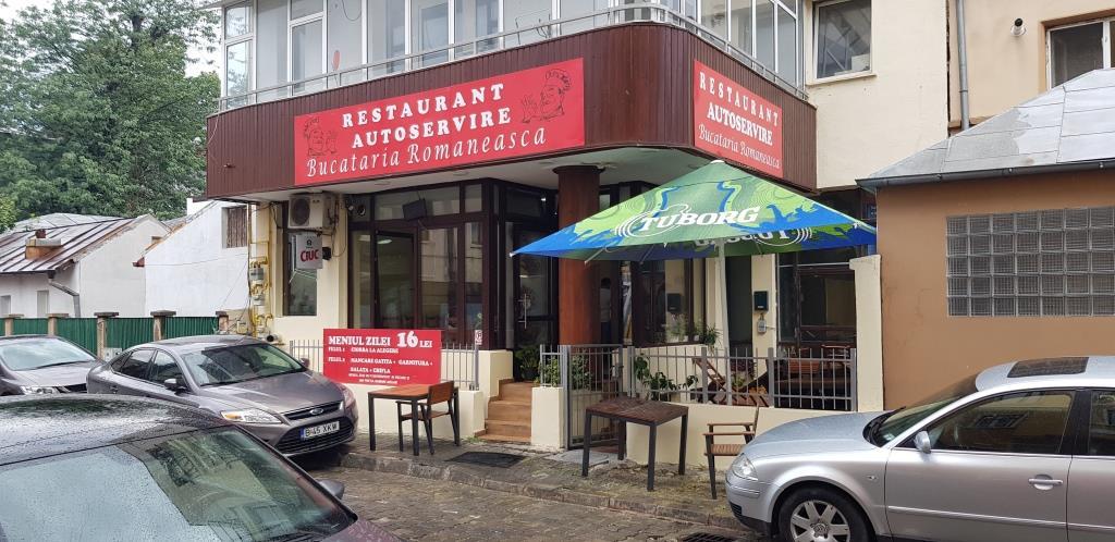 Bucataria Romaneasca, Fast-food cu autoservire, bucatarie urbana