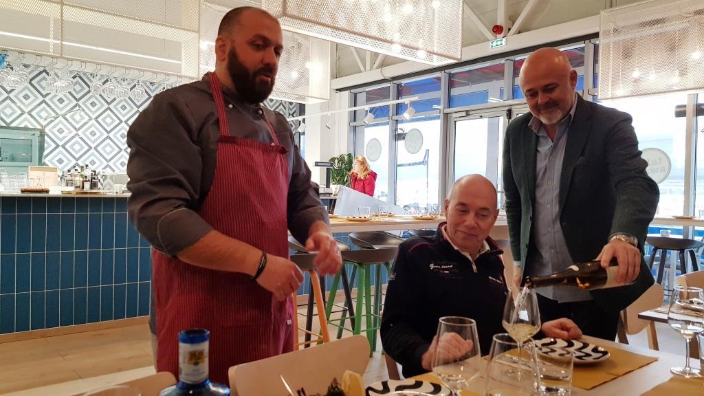 Chef Andrea di Russo si Eduardo Garcia del Amo