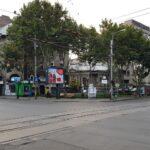 Strada Armeneasca si Bv Carol, cu restaurantul kosher