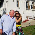 Cristina si Radu Timis la conacul lor, Casa Timis