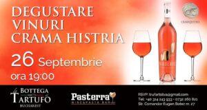 Degustare vinuri Crama Histria