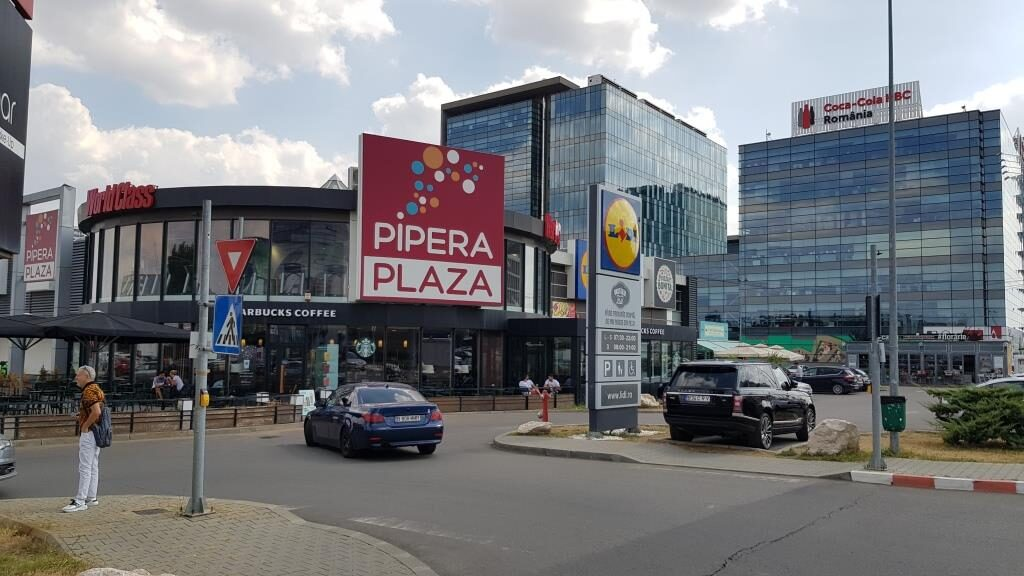 Pipera Plaza in Voluntari cu La Pescaderia