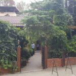 Terasele restaurantului Potcoava Giulesti