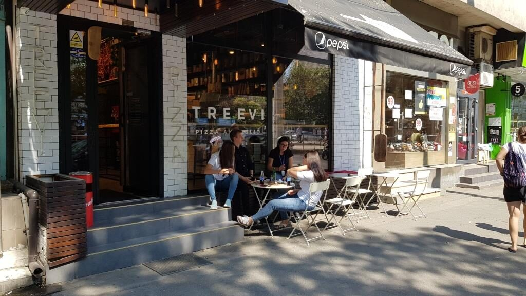 Treevi, bistrou fast-food de pizza