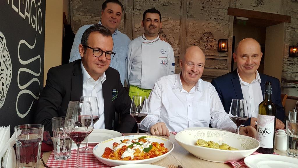 Cina pregatita de Chef Arcangelo Bero Pistoia