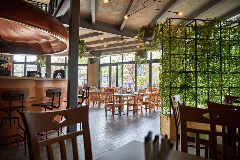 Hop Garden interior