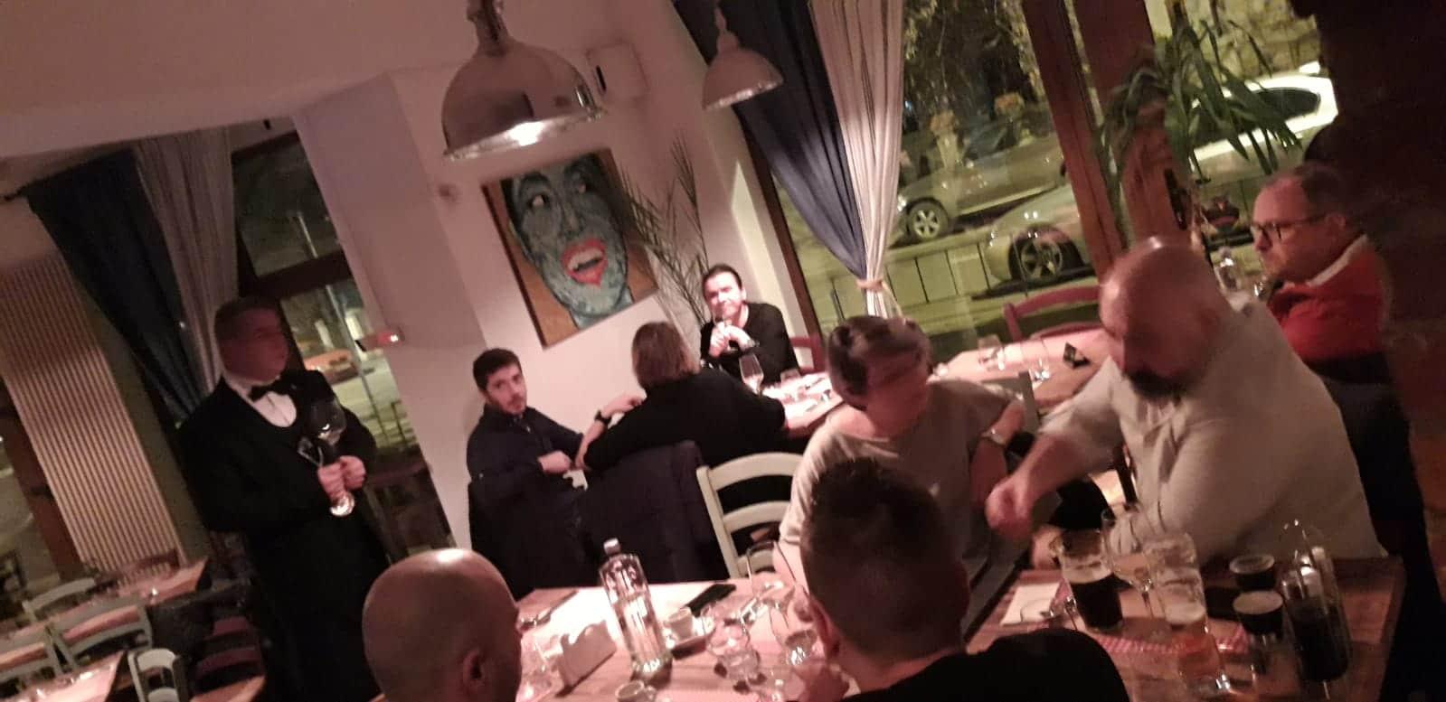 Degustare Chateau Cristi @ La Tartine