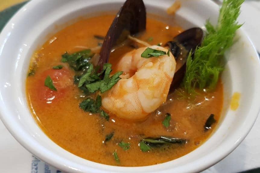 Supa alla livornese la La Pescaderia (Chef Andrea di Russo)